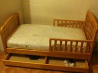 Bed is in very good condition it includes mattress and