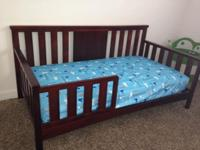 Great bed, but realized it was too small for toddler