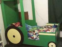I have 2 boys toddler beds for sale one is John Deer