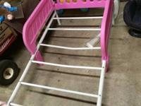 Two pink toddler beds for sell does not come with
