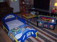 Handy Manny Toddler Bed--$75.00 Toddler Bed