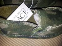 The Children's Place deck shoes. I have 4 pair Size: