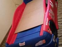 I have a step 2 toddler race car bed in very good