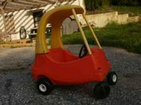 Yellow & Orange toddler car. Good condition. Reduced