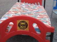Selling this Childs toddler bed. Comes as seen with