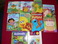 Large box of children's hard paged Board Books 42 in