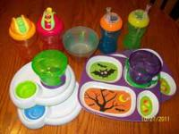 I'm selling a 14 piece set of toddler dishes All for