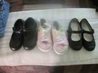 Girl shoes in good condition. Size 8(toddler). Call