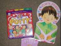 2 Toddler Girls Potty Books $3 For Both. (i no longer