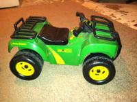 Great for kids between the ages of 1 to 3. ATV has