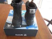 Kamik Frosty2 toddler snowboots from REI - worn very
