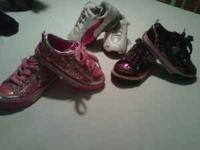 I am trying to get rid of my daughters shoes they are a