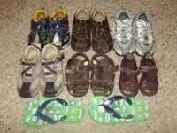 I have 7 pair of shoes that include the following: