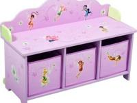 Tinkerbell Toddler bed Tinkerbell Three bin toy chest