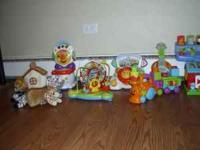 My son has way too many toys! txt  Any 3 for $15 Except