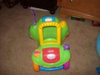 TODDLER TOYS: Toy truck, rider/buggie, pop-up, piano,