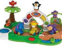 Fisher Price Animal Go Round. Comes with 4 animals and