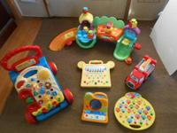 I HAVE THE FOLLOWING TODDLER TOYS FOR SALE.   V-TECH