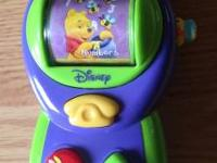 2) Vtech Call N Learn Phone- Disney Winnie The Pooh Toy