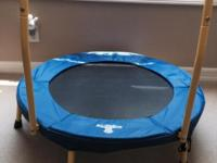 The Original Toy Toddler Trampoline No metal springs