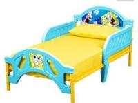 Spongebob toddler bed
