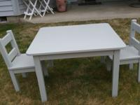 This is a new Hand Custom Crafted Toddler/Child Table