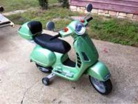 Peg Perego scooter - $75 obo comes with battery &