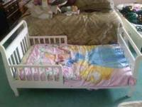 Hello I am sellin my toddlers bed for $70obo. If
