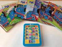 Set of 46 new and use books This ad was posted with the