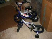 Todler bike with training wheels. Paid originally