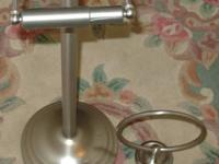 Toilet paper holder  $8.00 Small towel holder   $4.00