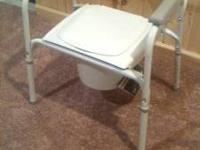 Toilet Potty Chair Seat (ADULT): VGC Call Jamie on