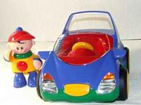 Tolo Toys, First Friends, Electronic Car In V-Good