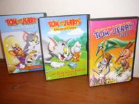 tom and jerry cartoons.they are 6 0n the dvds.each $2
