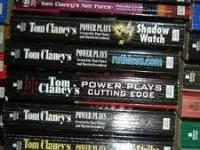 # TOM CLANCY'S fiction ~ 48 paperbacks. includes