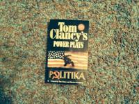 Tom Clancy books/ buy all 5 for $20  1 net force  1