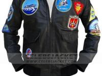 CelebsJacket offers Leather Top Gun Jacket For Sale,