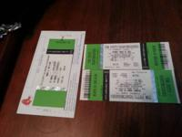 I have 2 tickets (Good seats) for Tom Petty & The