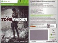 Tomb Raider for Xbox 360. I have the full game download