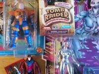 Selling:  Tomb Raider Cable Gambit (only opened toy -