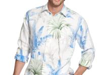 Drape yourself in this luxurious shirt by Tommy Bahama