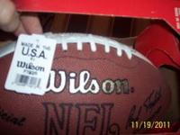 nice autographed tommy frazier football , also signed