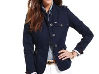 Showcase your style in Tommy Hilfiger's miltary-style