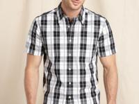This classic plaid shirt from Tommy Hilfiger is a