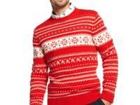 This sweater from Tommy Hilfiger has so much holiday