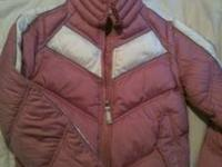 Tommy jeans down winter coat/jacket/vest. Pink and