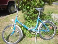 Tomos Luxus vintage folding bike with headlight & &