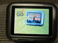 For Sale is a used TomTom Go 700 GPS Unit. It works