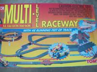 HI,THERE UP FOR SALE IS A TOMY AFX HO SLOT CAR SET WITH