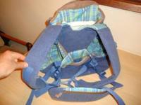 Tomy back carrier has been gently used and is still in